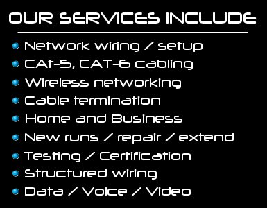 network wiring services